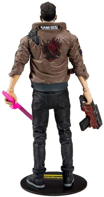 Cyberpunk 2077 Figurine Male V dos