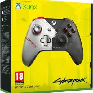Manette sans fil Edition Limitée Cyberpunk 2077 Xbox One boite