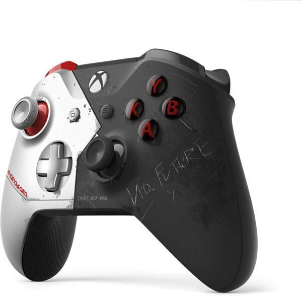 Manette sans fil Edition Limitée Cyberpunk 2077 Xbox One cote