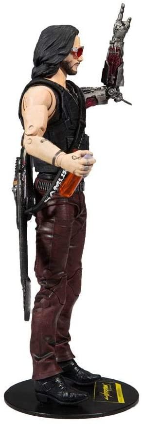 McFarlane Cyberpunk 2077 Figurine Johnny Silverhand cote