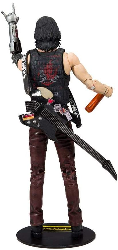 McFarlane Cyberpunk 2077 Figurine Johnny Silverhand dos