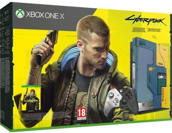 Pack Xbox One X Edition Limitée Cyberpunk 2077