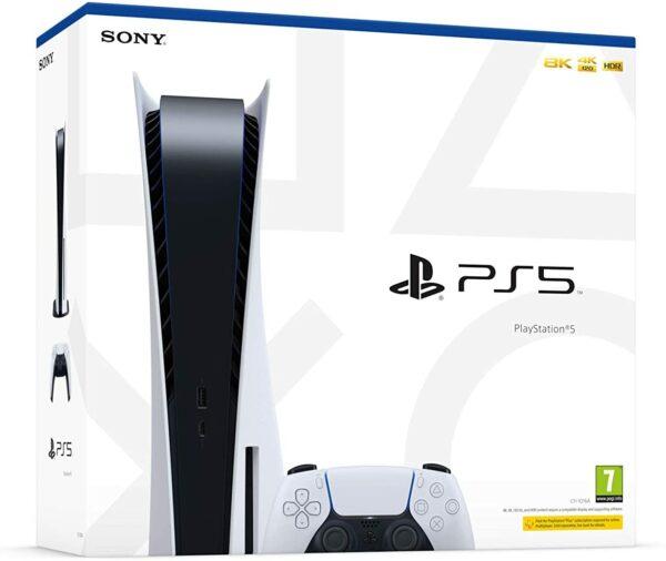 Sony PlayStation PS5 1 Manette Sans Fil DualSense boite