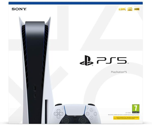 Sony PlayStation PS5 1 Manette Sans Fil DualSense boite face