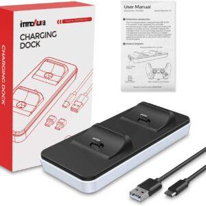 Station de Recharge Portable pour Contrôleur PS5 boite