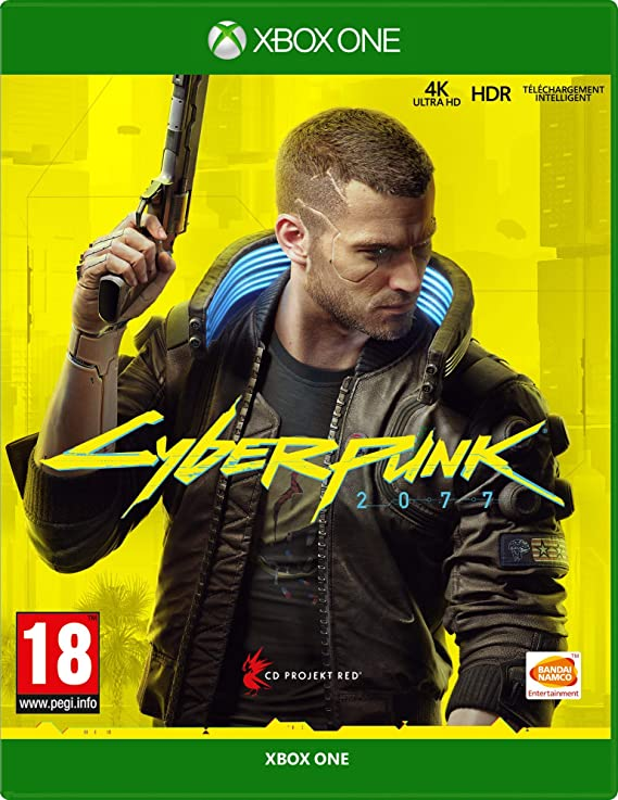jeu XboxONE cyber punk 2077